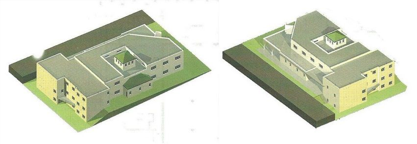 Maquette de la mosquée chevilly-larue