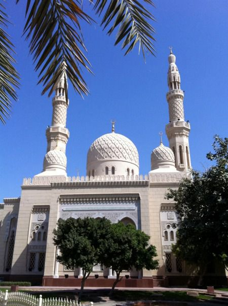 La mosquée Jumeirah à Dubaï