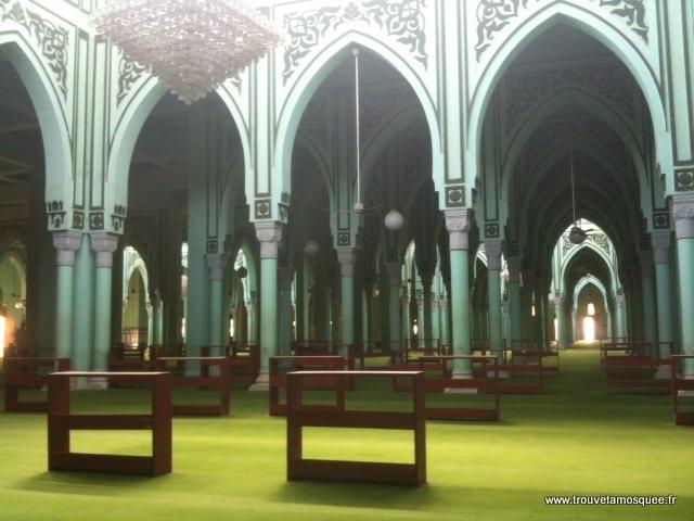 Mosquée Nouakchott intérieur