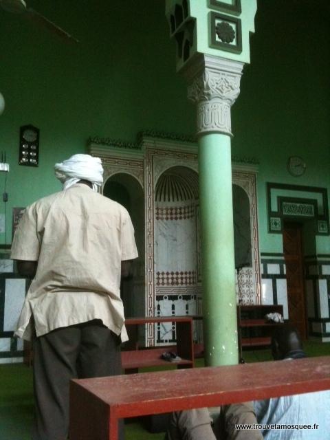 Mihrab mosquée Nouakchott