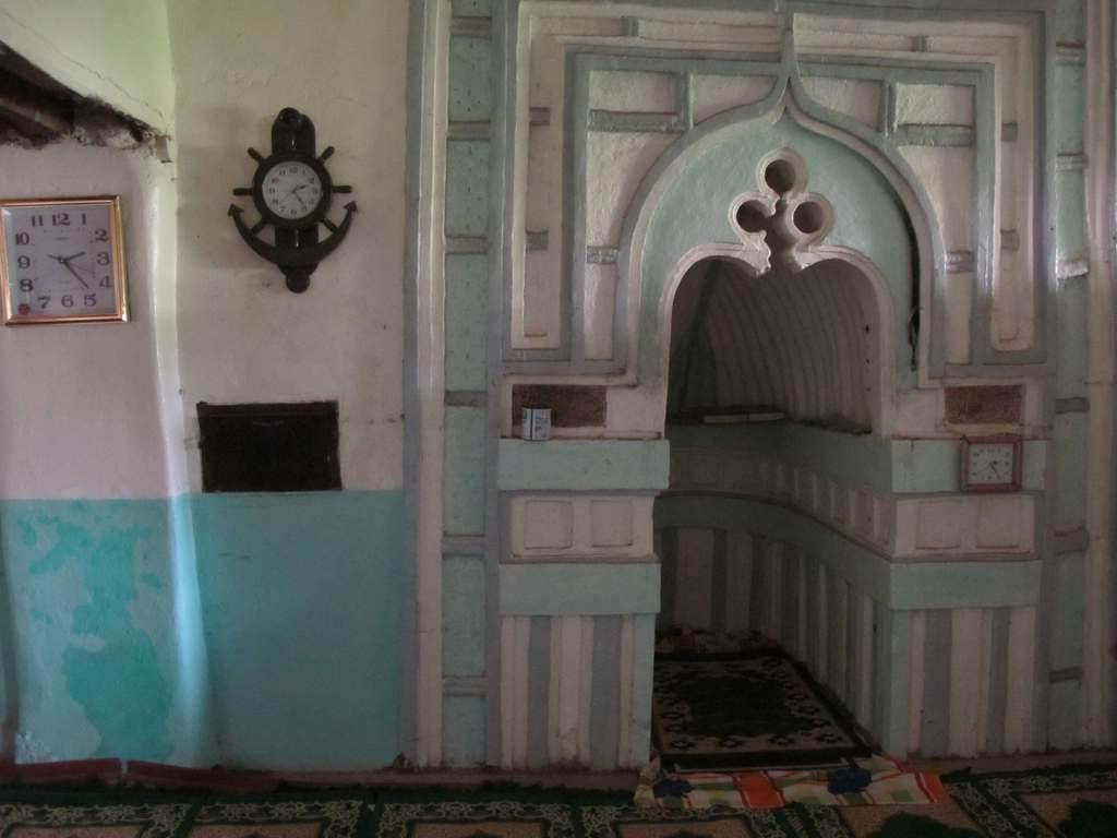 Mihrab de la mosquée Tsingoni Mayotte