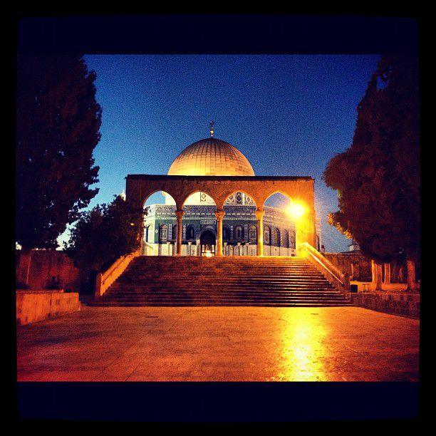 La mosquée Al Aqsa à Jérusalem
