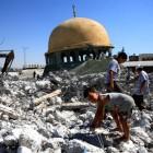 Une mosquée détruite à Gaza