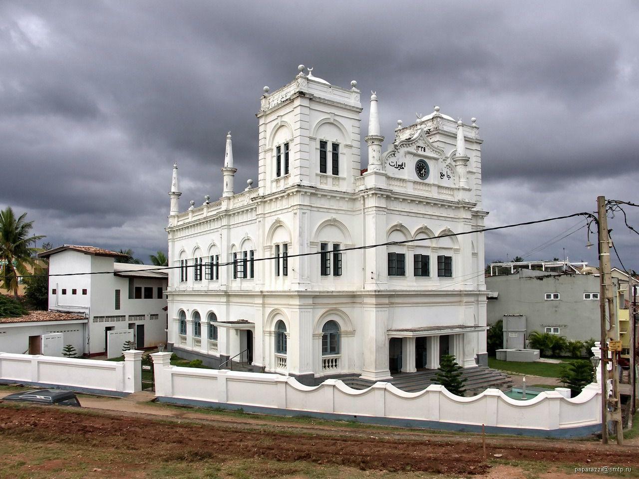 Mosquée du jour : la blanche de Galle