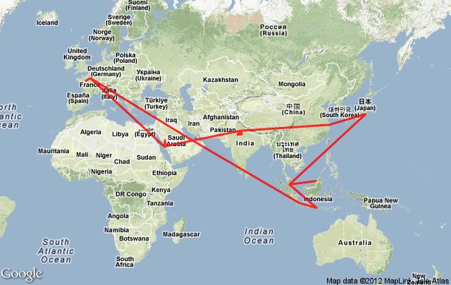 8 pays, 40 jours, 80 mosquées, sur les traces d'Ibn Battuta