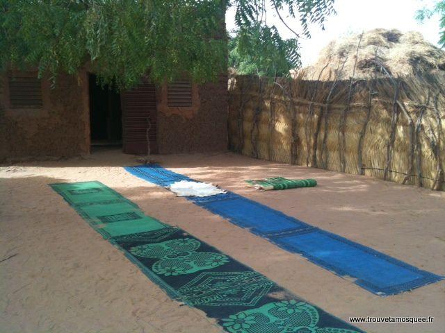 Un autre espace de prière au milieu du desert nigérien
