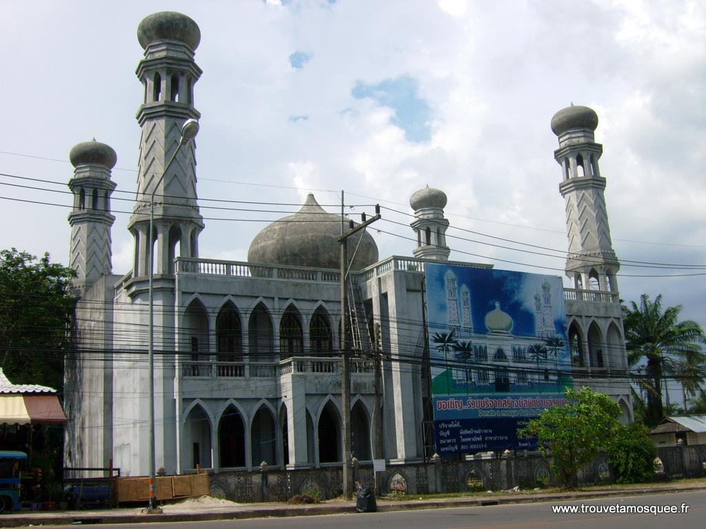 La mosquée à Krabi en Thailande