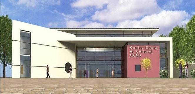 Le futur centre socio-culturel musulman de La Chapelle-Saint-Luc