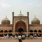 Mosquée Jama Delhi de face