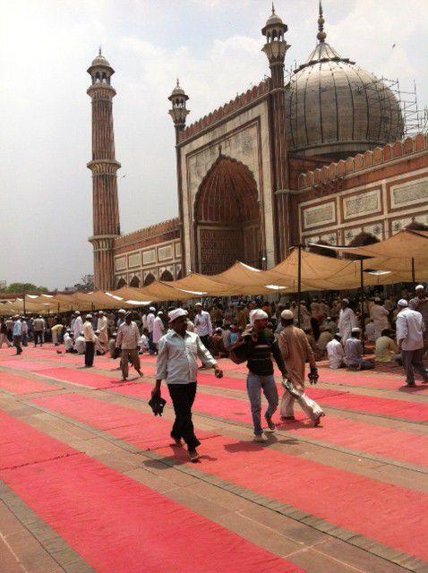 Joumou'a mosquée jama Delhi