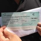 Chéque de 787000 euros pour la mosquée de Blois