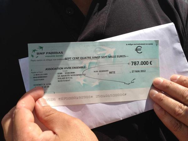 Le roi Mohammed VI donne 787.000 € pour la construction d'une mosquée à Blois