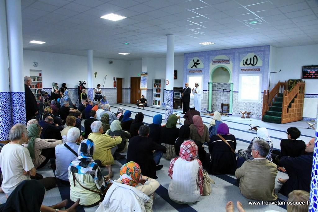 Portes ouvertes à la mosquée Fourquane à Valence