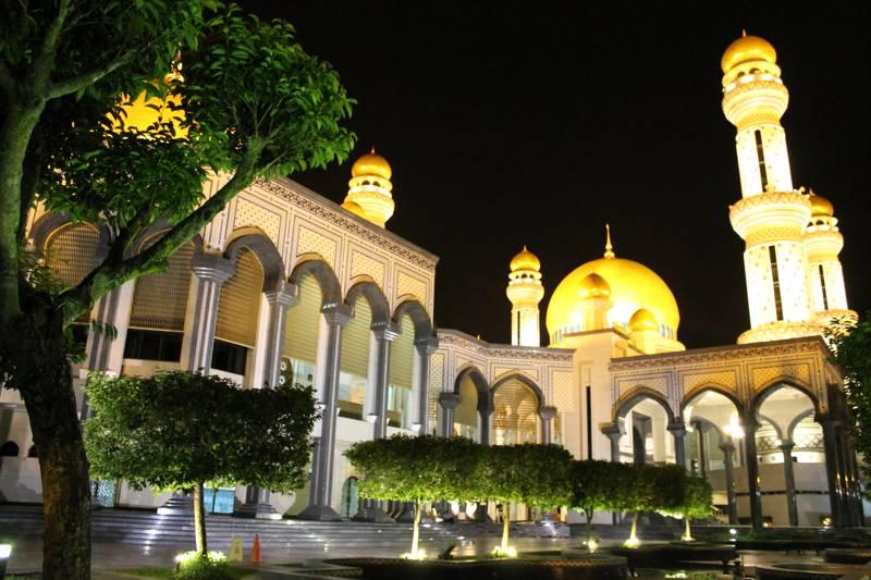 La mosquée Jame Asr Hassanil Bolkiah à Brunei
