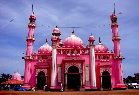 La mosquée Rose Beemapalli de Kerala en Inde