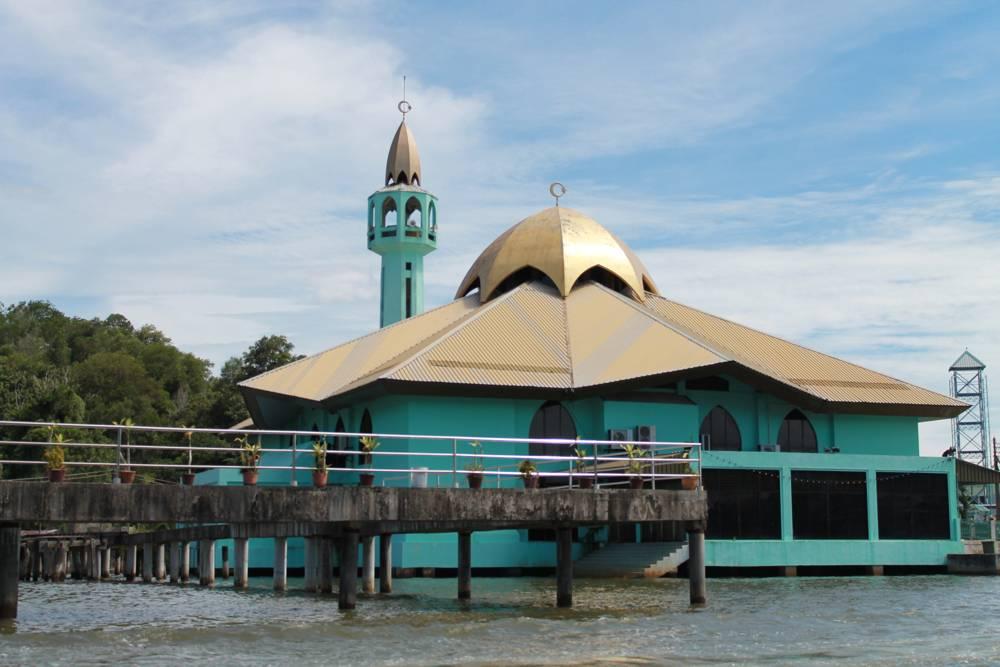 Mosquée piloti à Kampung Ayer Brunei