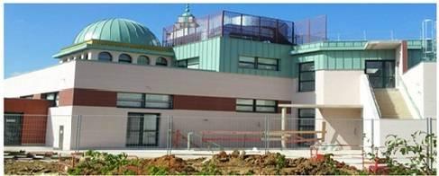 Première prière à la nouvelle mosquée de Cergy