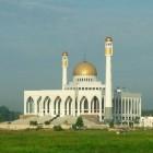 La grande mosquée de Hat Yai Songkhla en Thaïland