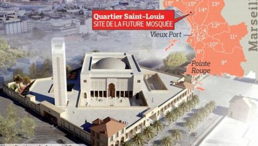 Un nouveau permis de construire pour la Grande Mosquée de Marseille