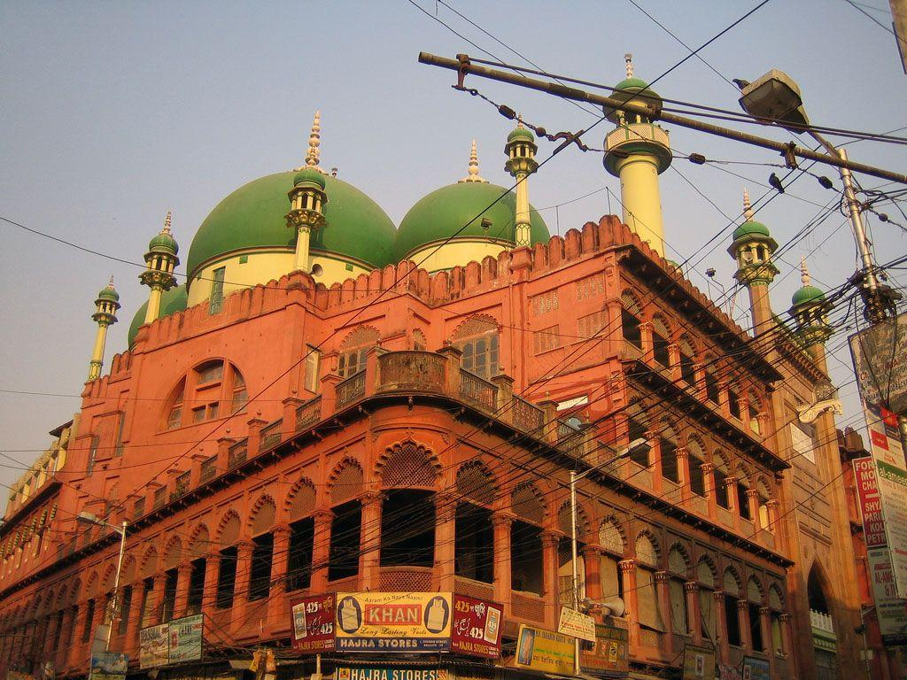 La mosquée Nakhoda Calcutta