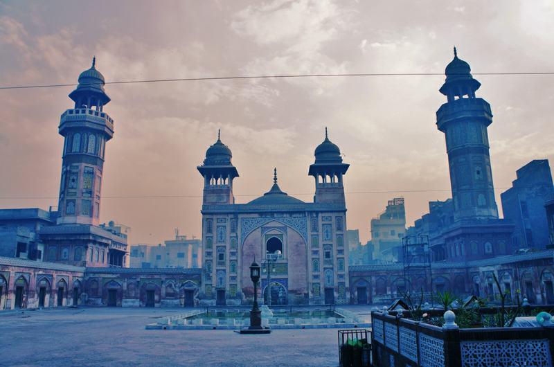 Mosquée du jour: masjid Wazir Khan Lahore
