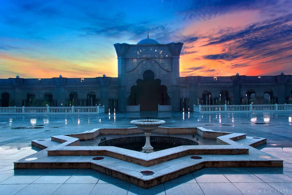 La mosquée Wilayah à Kuala Lumpur en Malaisie