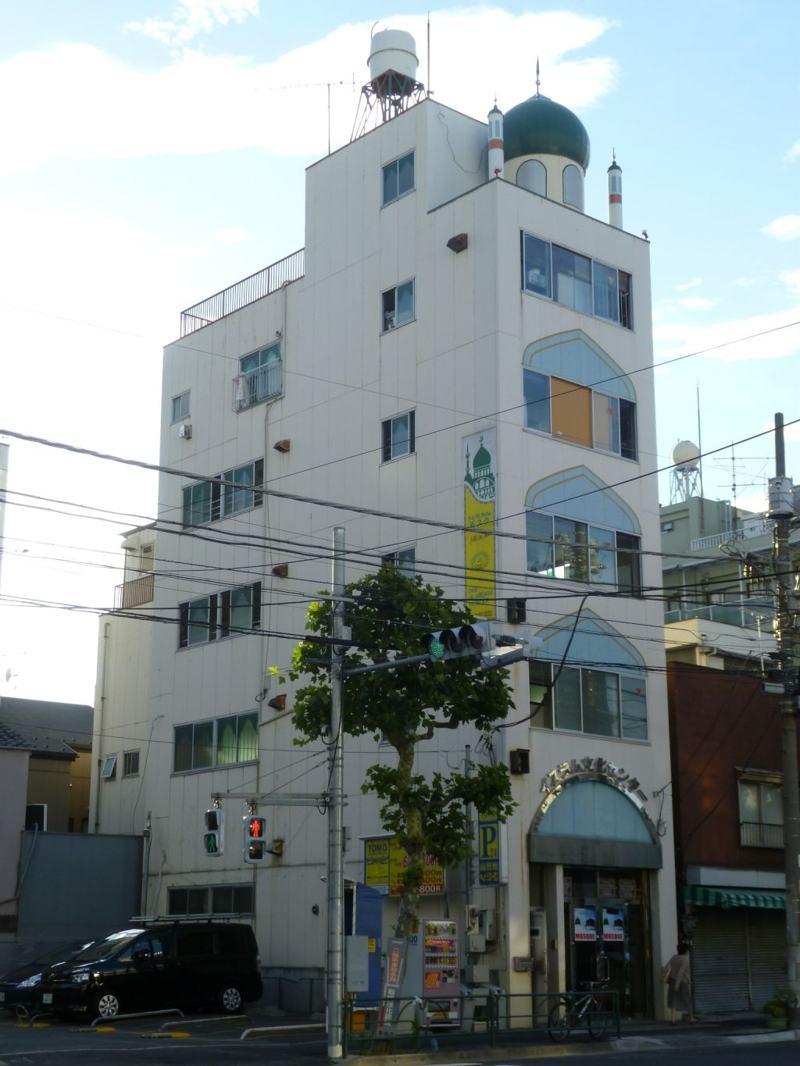Mosquée Dal Arqam à Asakusa de Tokyo au Japon
