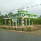 Une mosquée à Sorong en Indonésie