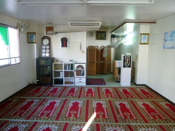 L'intérieur de la mosquée Dar Al Arqam à Tokyo au Japon