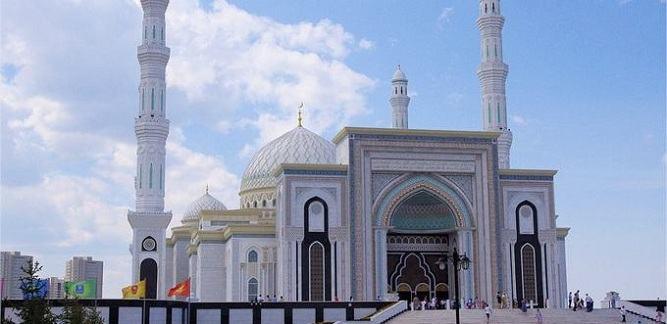 Inauguration de la plus grande mosquée du Kazakhstan