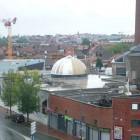 La mosquée du quartier Epeule à Roubaix en construction