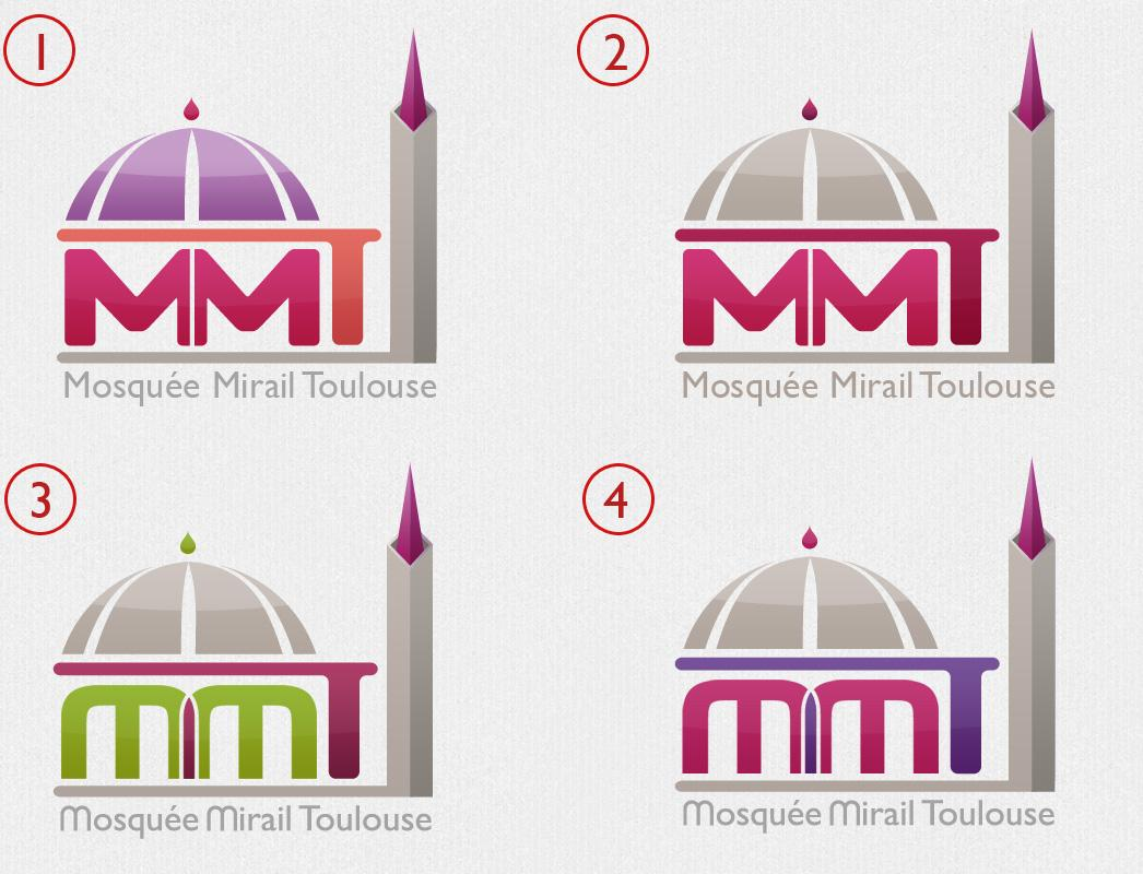Le nouveau logo de la mosquée du Mirail