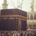 Masjid Al Haram sous la pluie