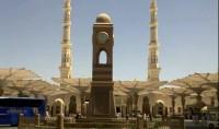 Mosquée du jour: horloge de masjid Nabawi