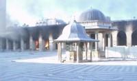 La mosquée des Omeyyades d'Alep saccagée – Syrie