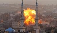 Cimetières et mosquées visées par Israël