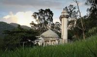 Mosquée du jour: dans la forêt de Rio de Janeiro