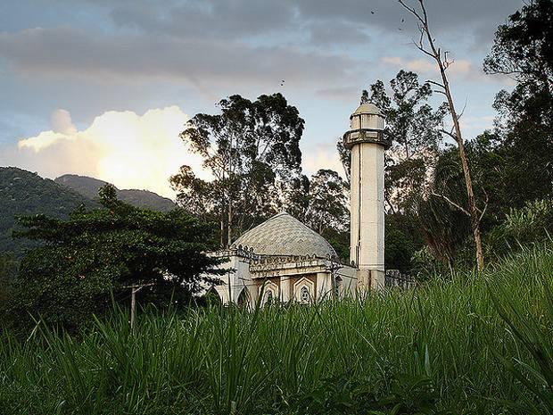 Une petite mosquée Rio de Janeiro Brésil