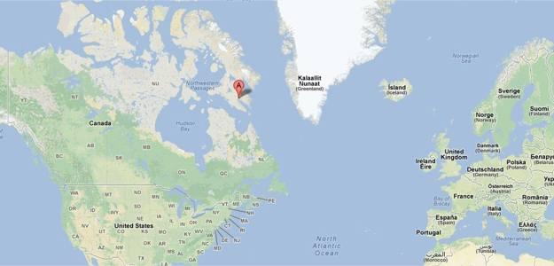 Iqaluit - Google Maps - Google Chrome