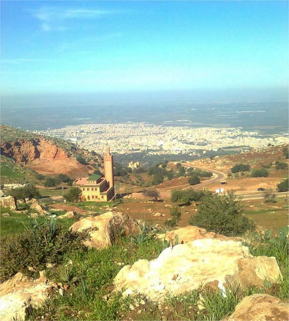 La mosquée de Ras El Aine au Maroc
