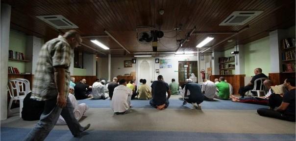 Intérieur de la mosquée An nour Mulhouse