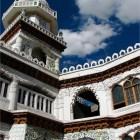 mosquée à Ladakh en Inde