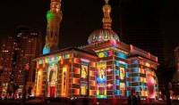 Les mosquées de Sharjah hautes en couleurs