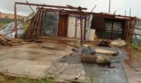Une mosquée emportée par la tempête