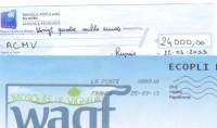 Il fait un don de 24 000 euros