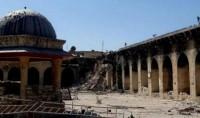 La mosquée des Omeyyades à Alep perd son minaret