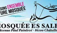 Construction de la nouvelle mosquée de Châtellerault