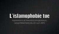 Rassemblement pour dénoncer l'islamophobie qui tue