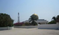 Mosquée du jour : quelque part aux Maldives