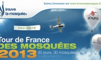 L'affiche officielle du Tour de France des mosquées 2013